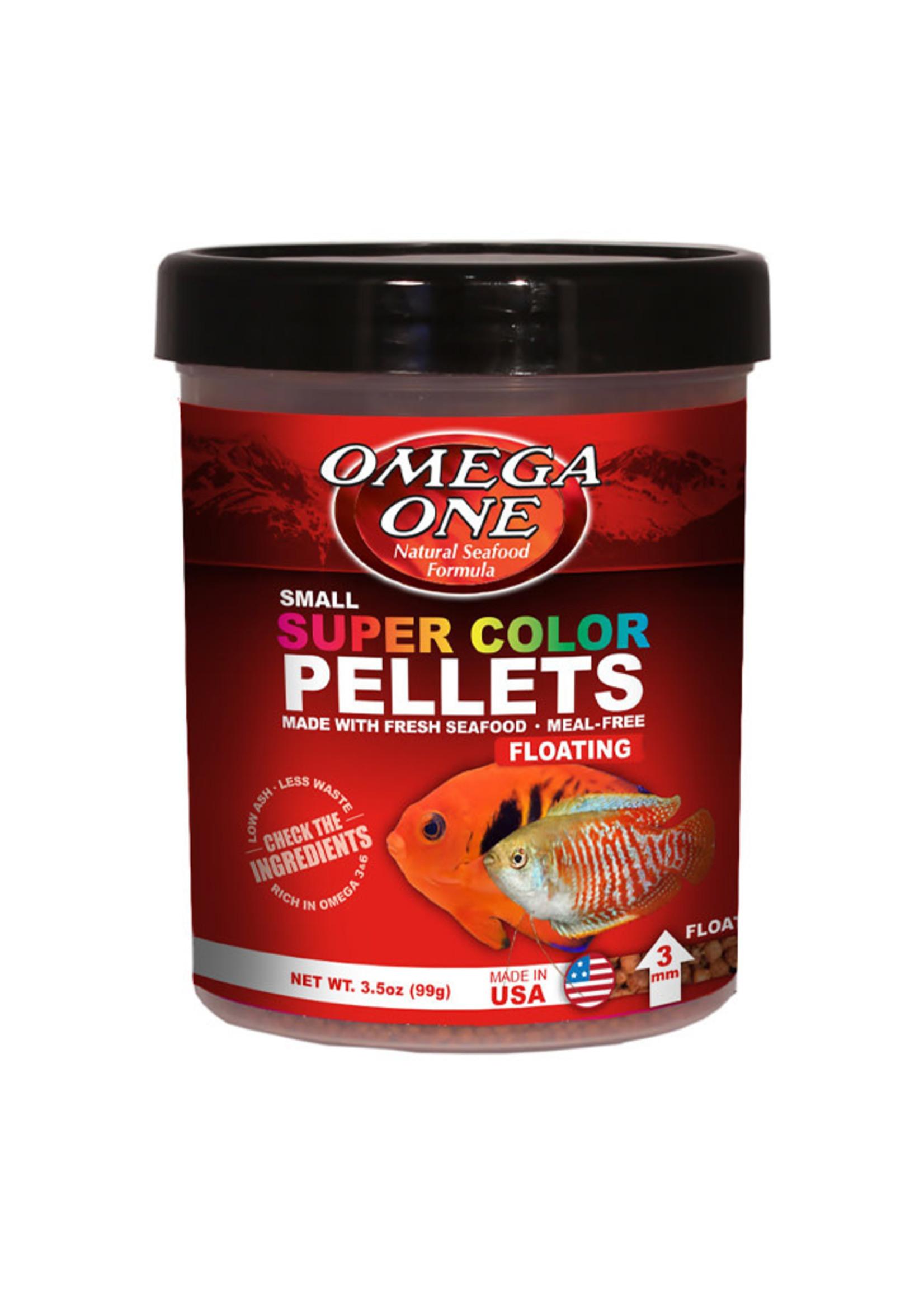 Omega One Omega One Super Color Pellets 94g / 3.5oz