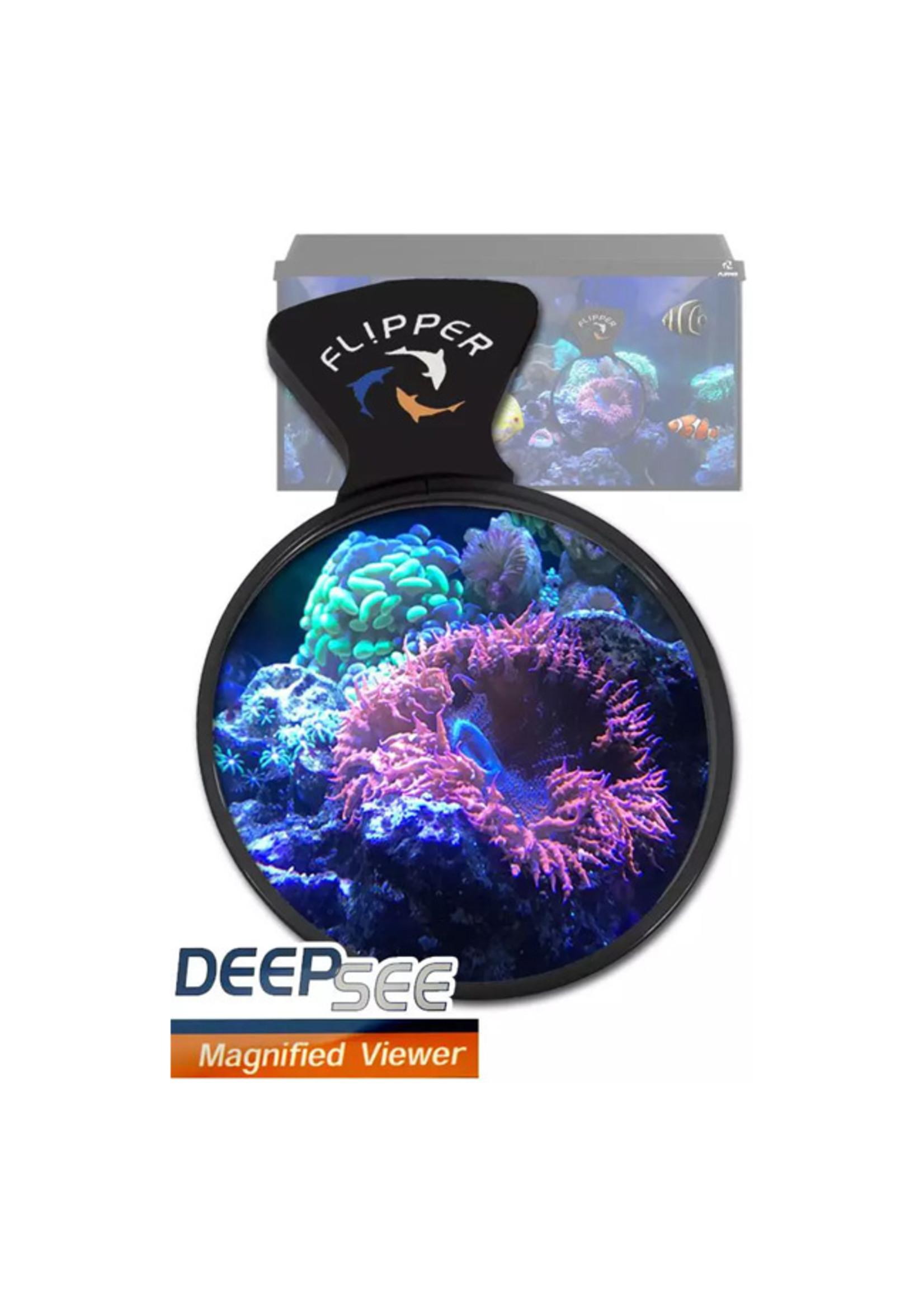 "Flipper Cleaner Flipper DeepSee Magnetic Aquarium Viewer 4"""