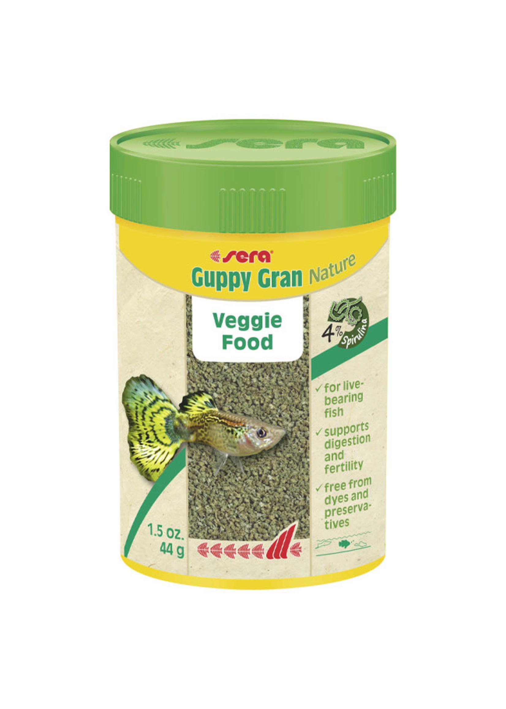 sera Sera Guppy Gran Nature Veggie Food