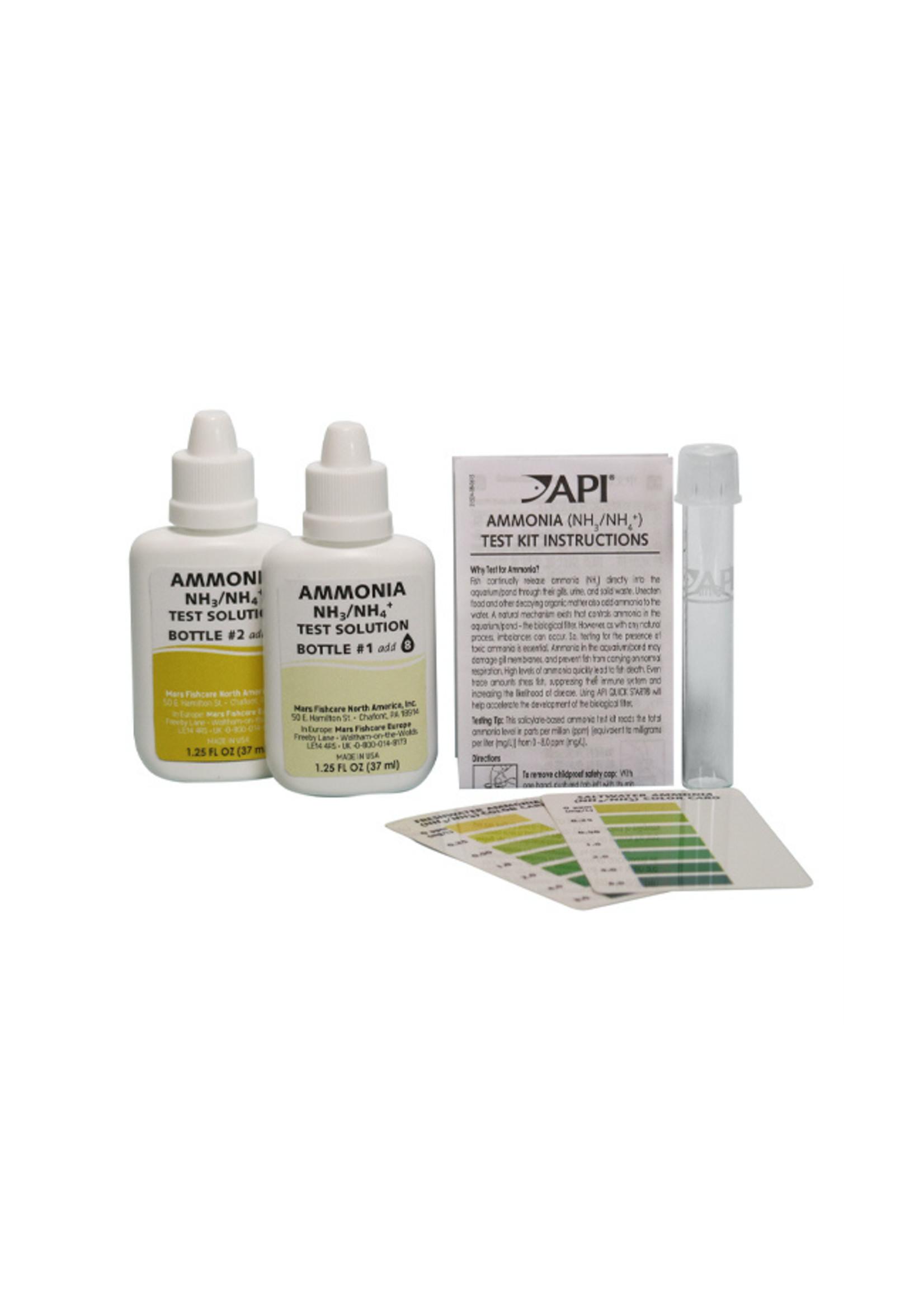 Aquarium Pharmaceuticals (API) API Ammonia Test Kit