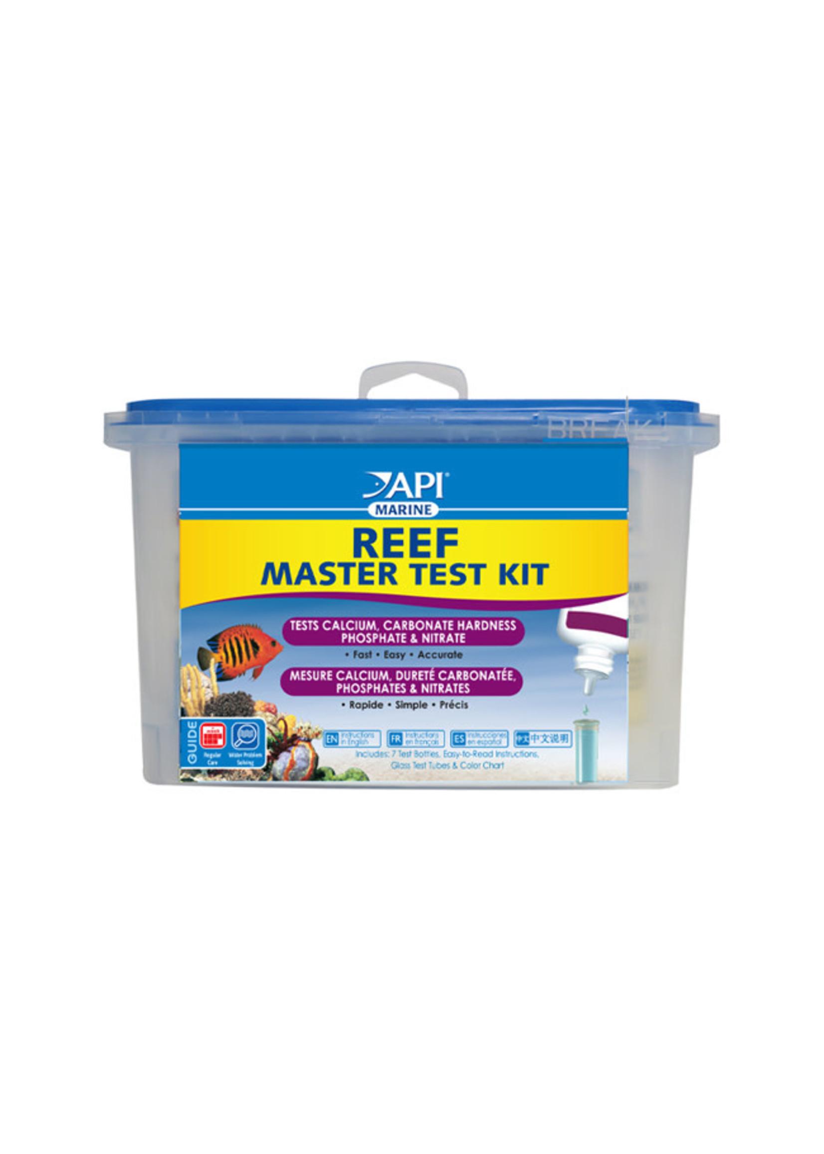 Aquarium Pharmaceuticals (API) API Marine Reef Master Test Kit