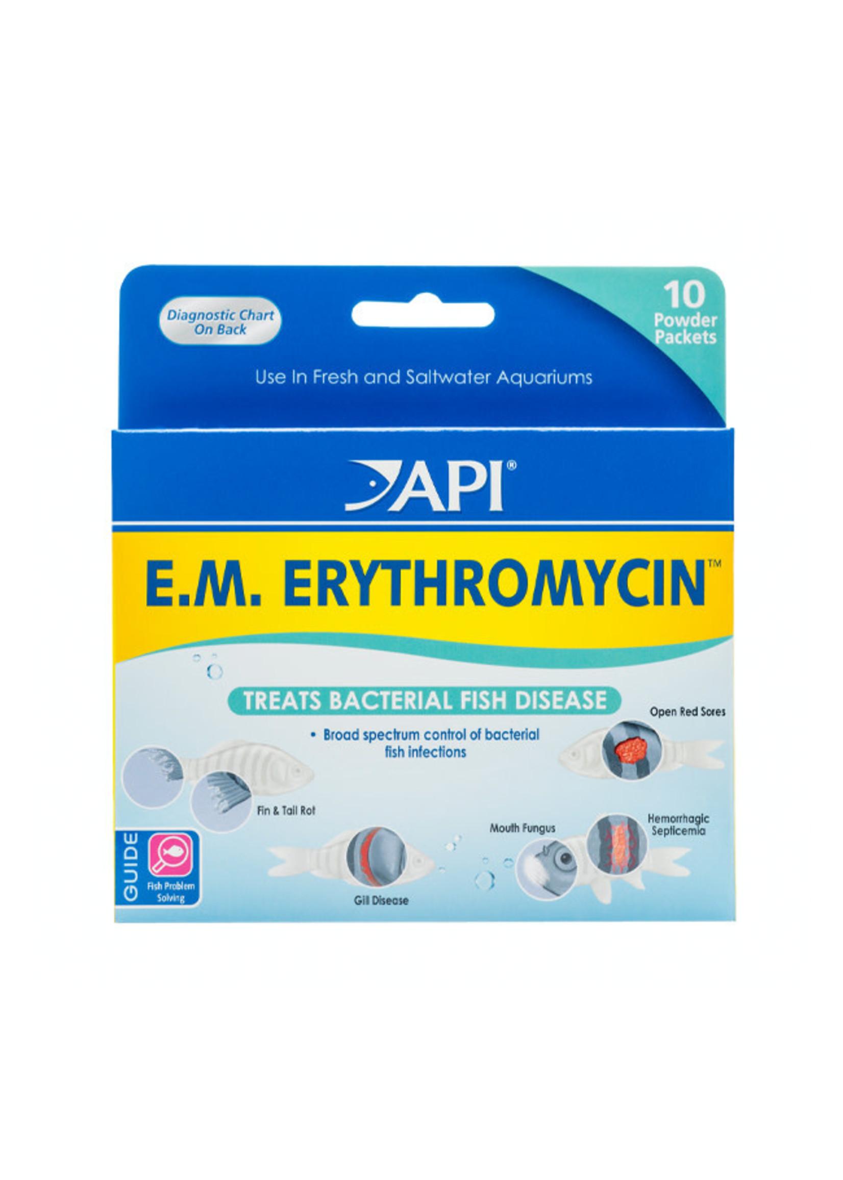 Aquarium Pharmaceuticals (API) API E.M. Erythromycin Powder