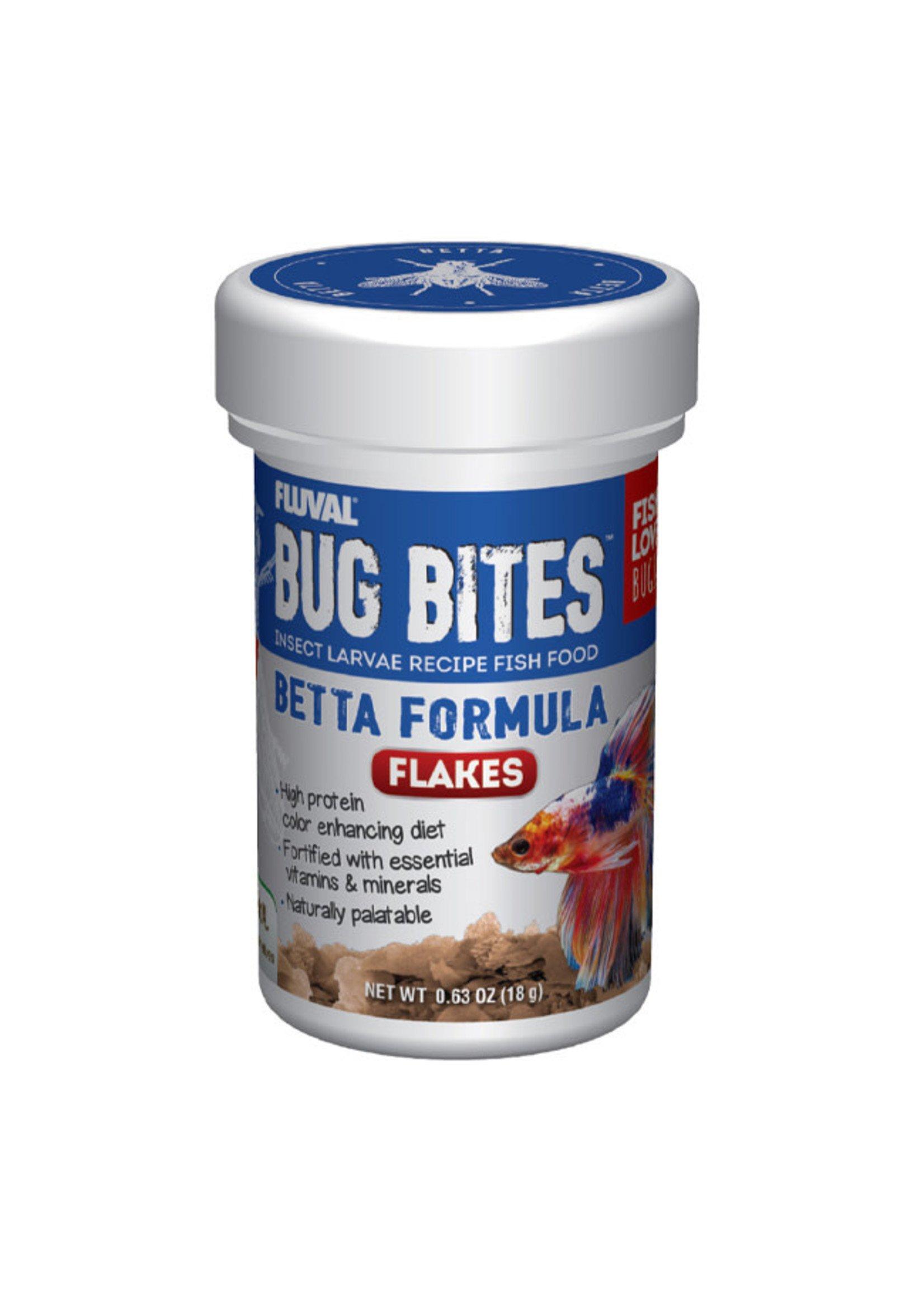 Fluval Fluval Bug Bites Betta Flakes 18g / .63oz