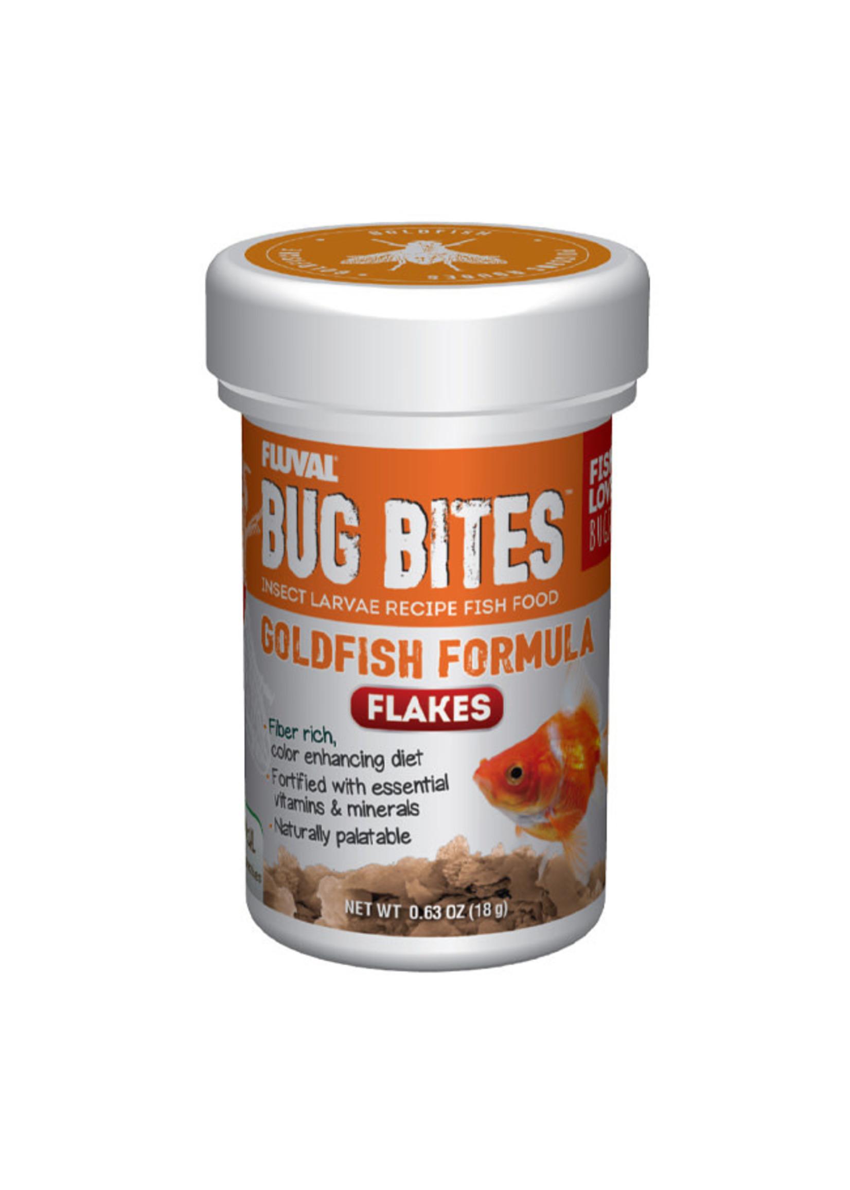 Fluval Fluval Bug Bites Goldfish Flakes