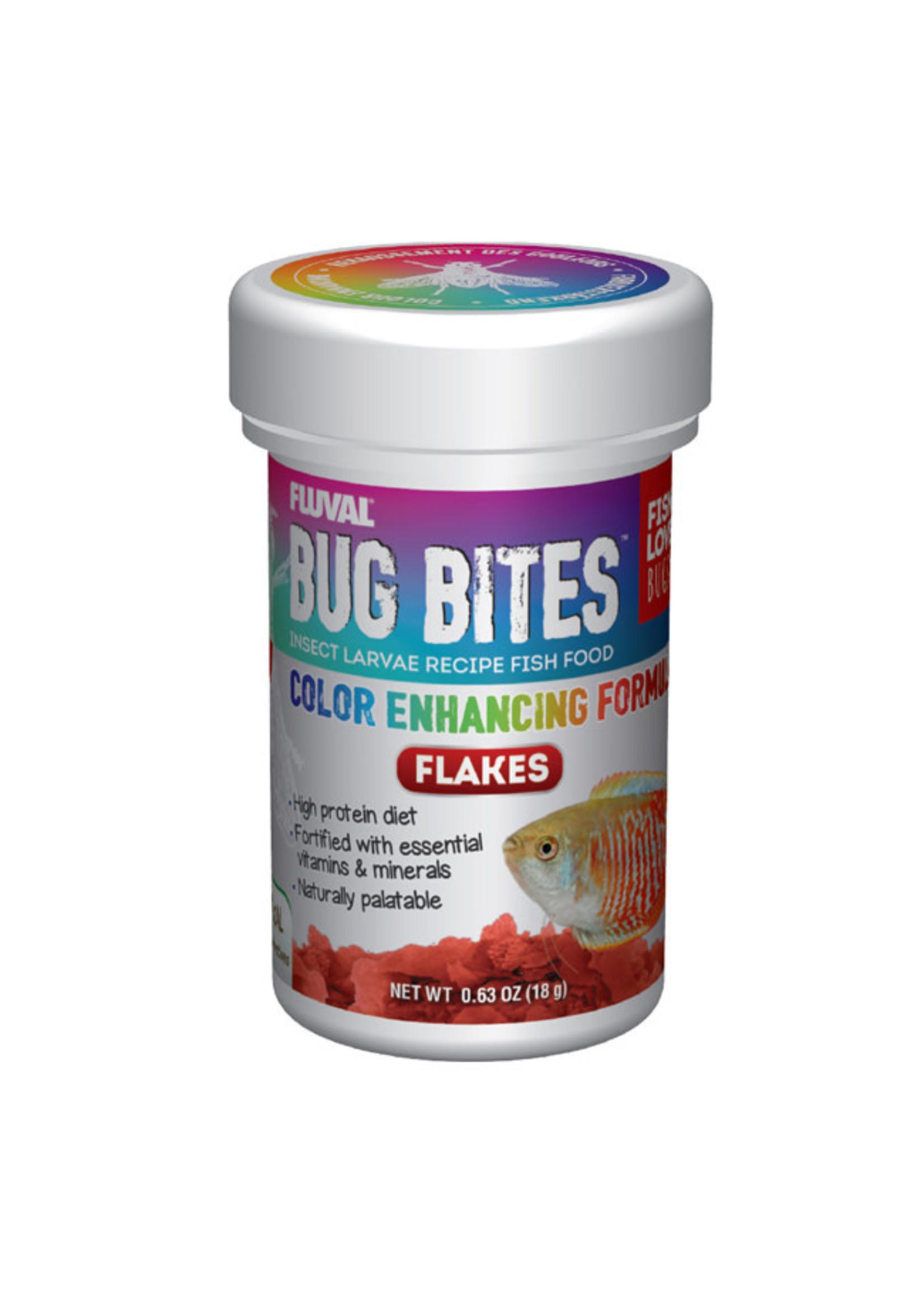 Fluval Fluval Bug Bites Color Enhancing Flakes
