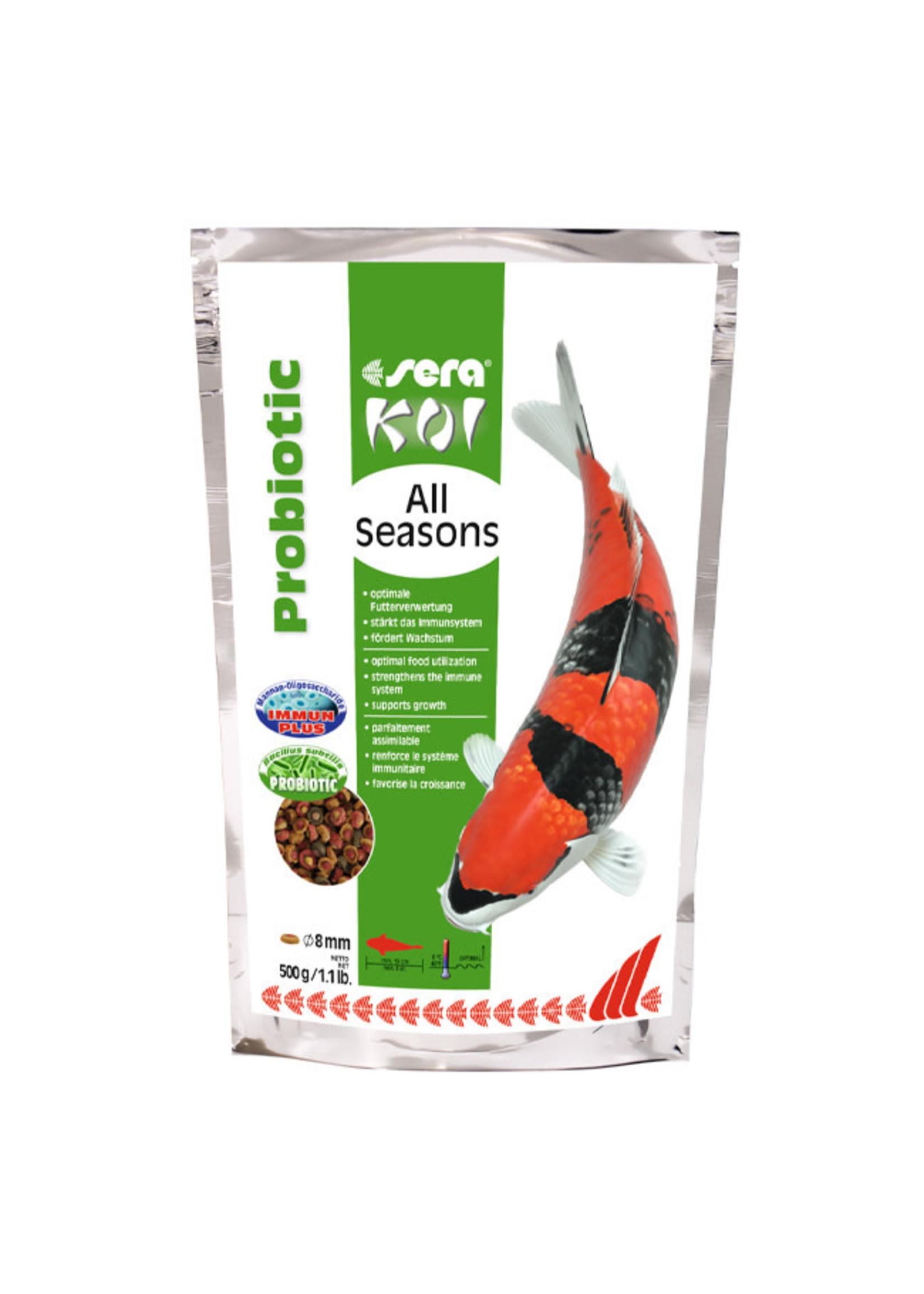 sera sera Koi Probiotic All Seasons Food 500g / 1.1lb
