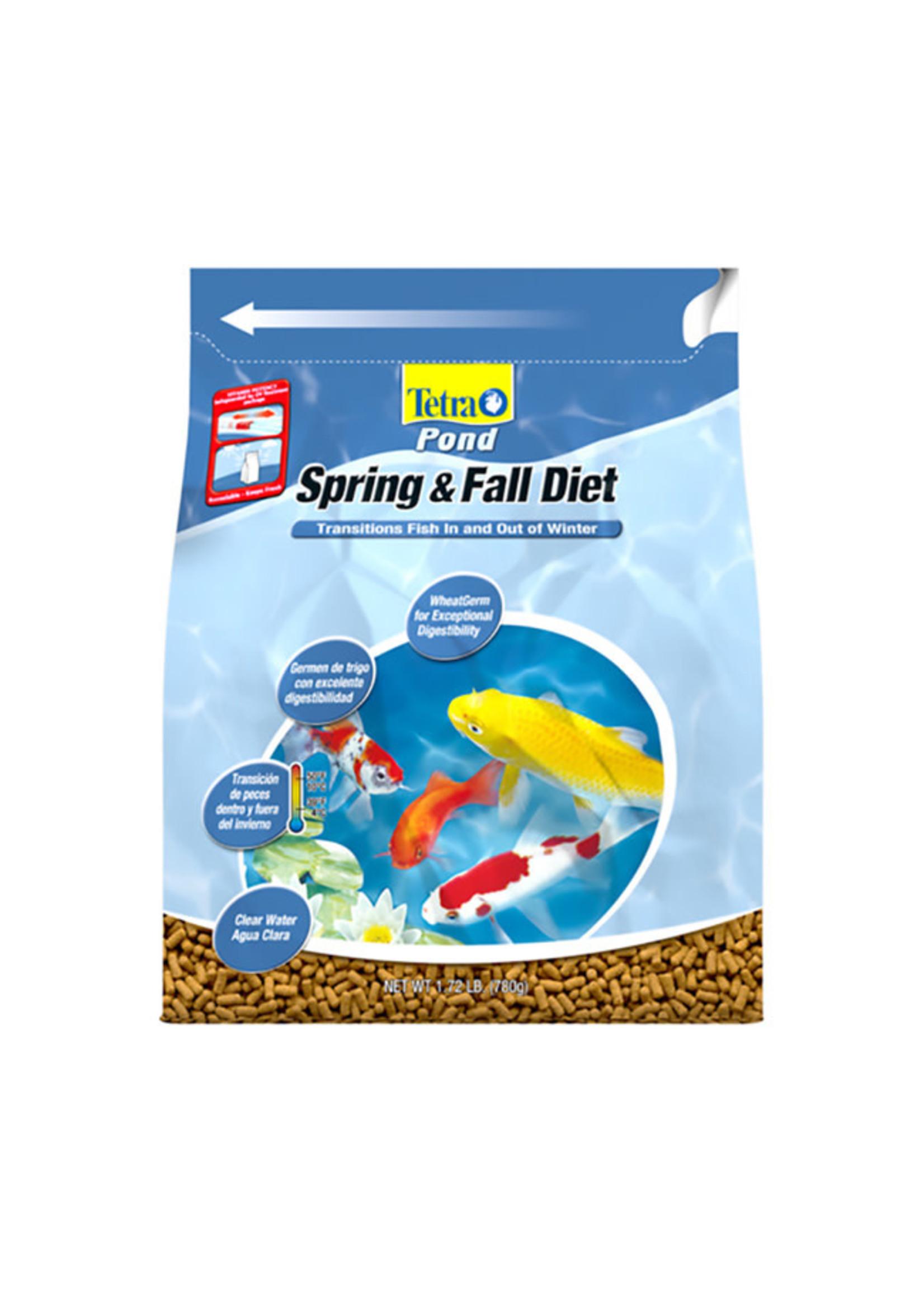 Tetra Tetra Pond Spring & Fall Diet