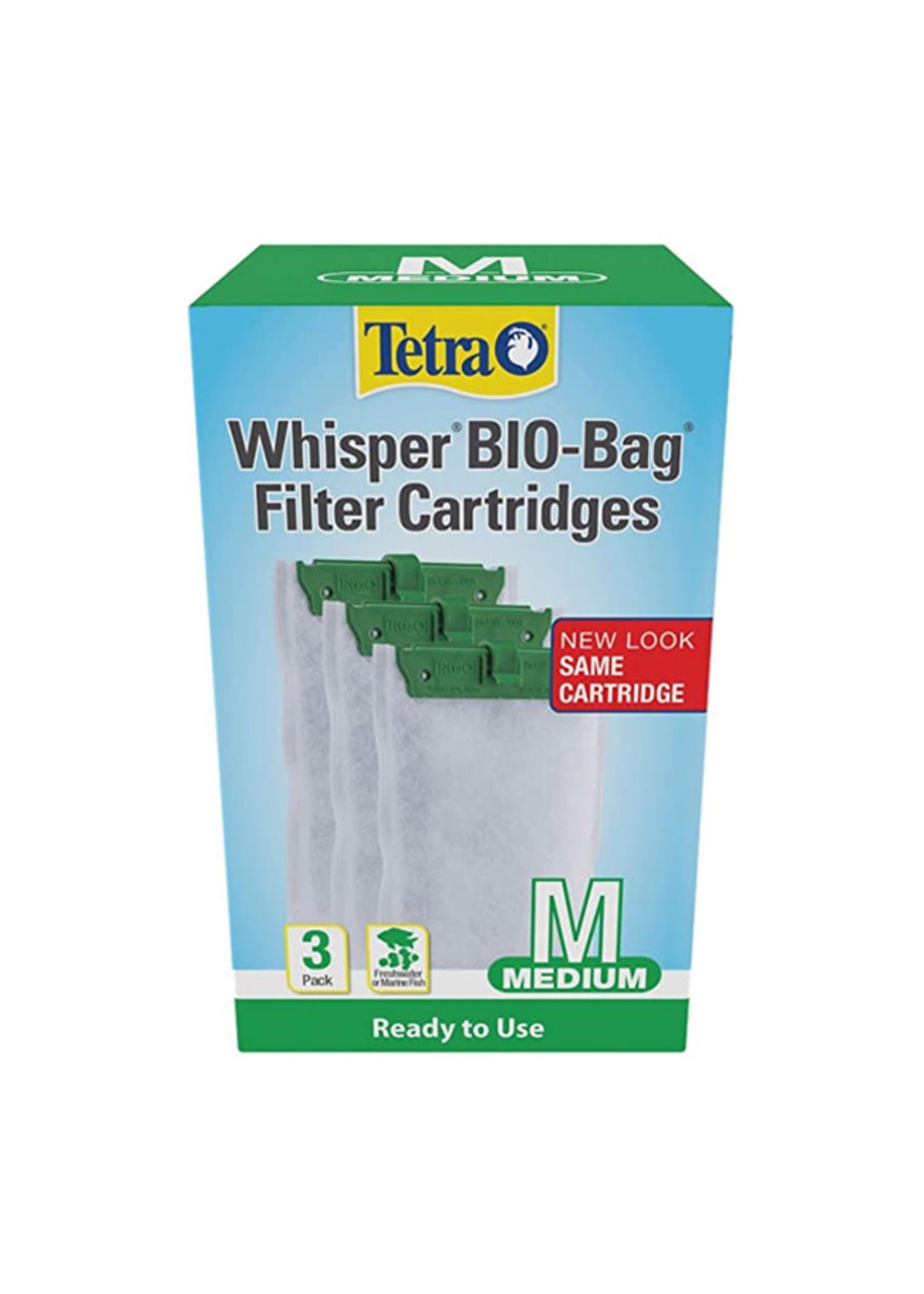 Tetra Tetra Whisper BIO-Bag  Filter Cartridges Ready to Use
