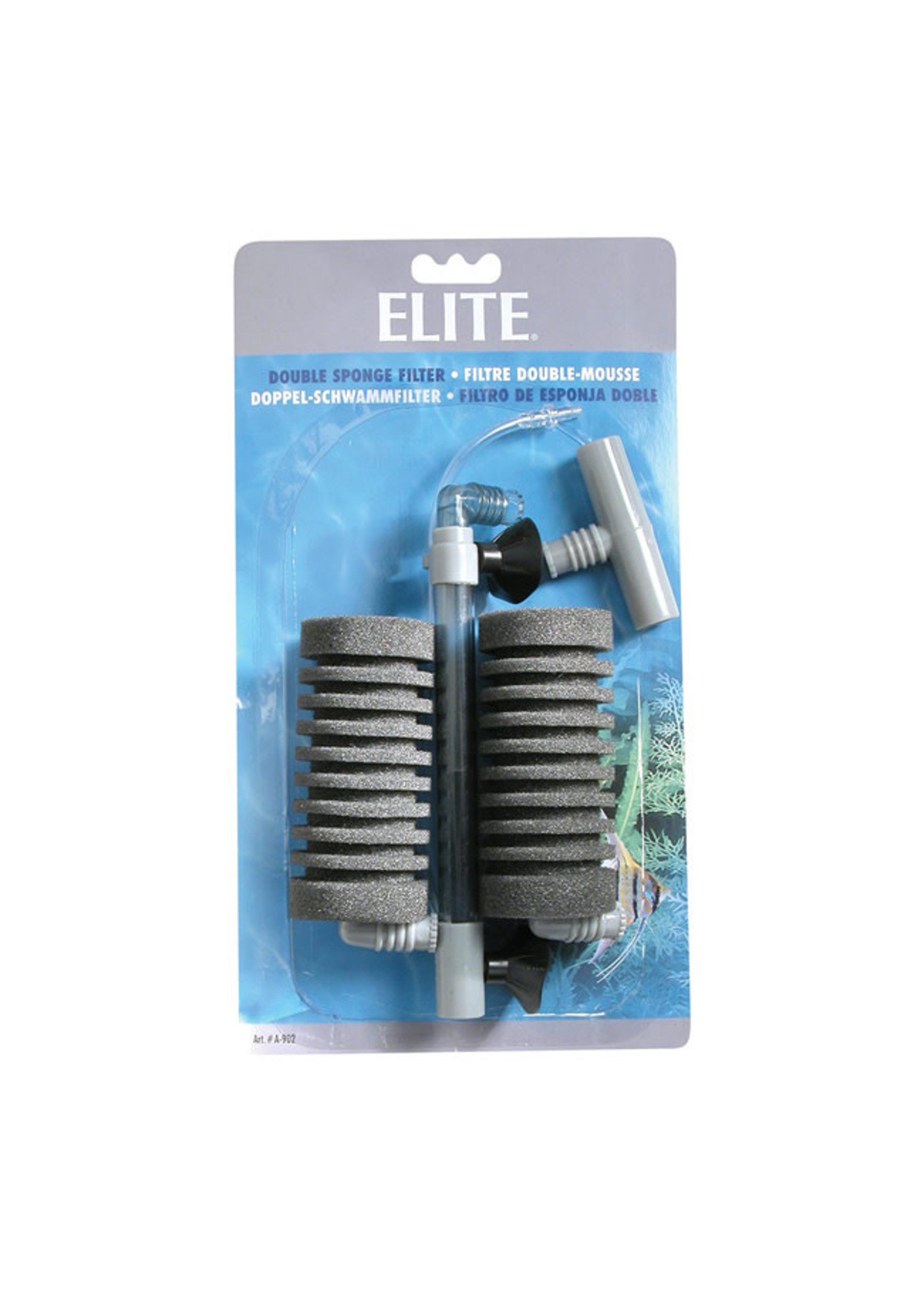 Elite Elite Double Sponge Filter