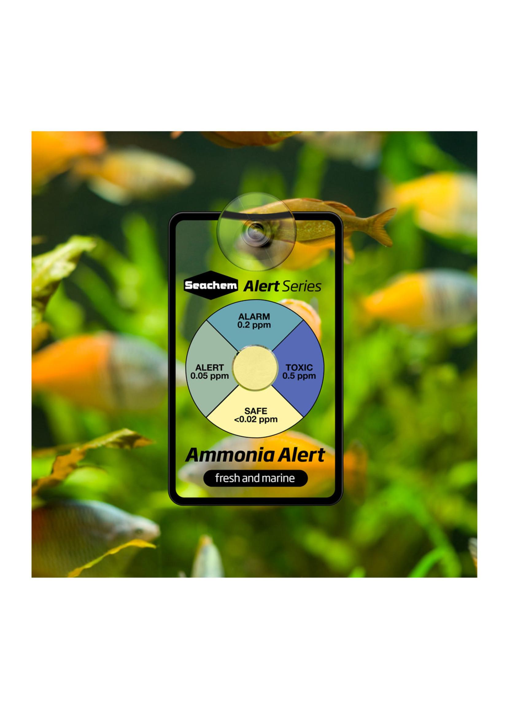 Seachem Laboratories, Inc. Seachem Ammonia Alert Card