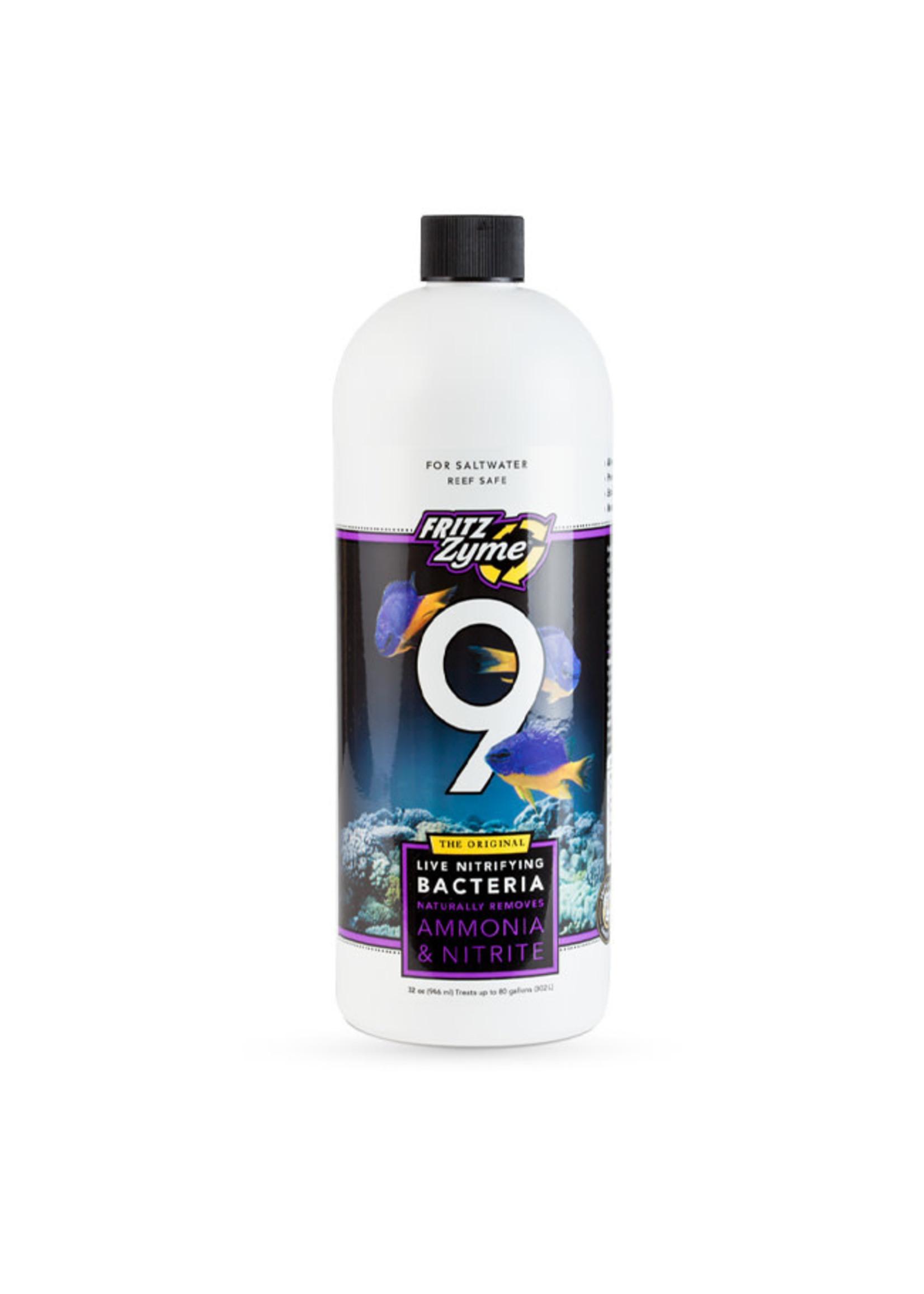 Fritz Aquatics Fritz Zyme 9 Saltwater Live Nitrifying Bacteria
