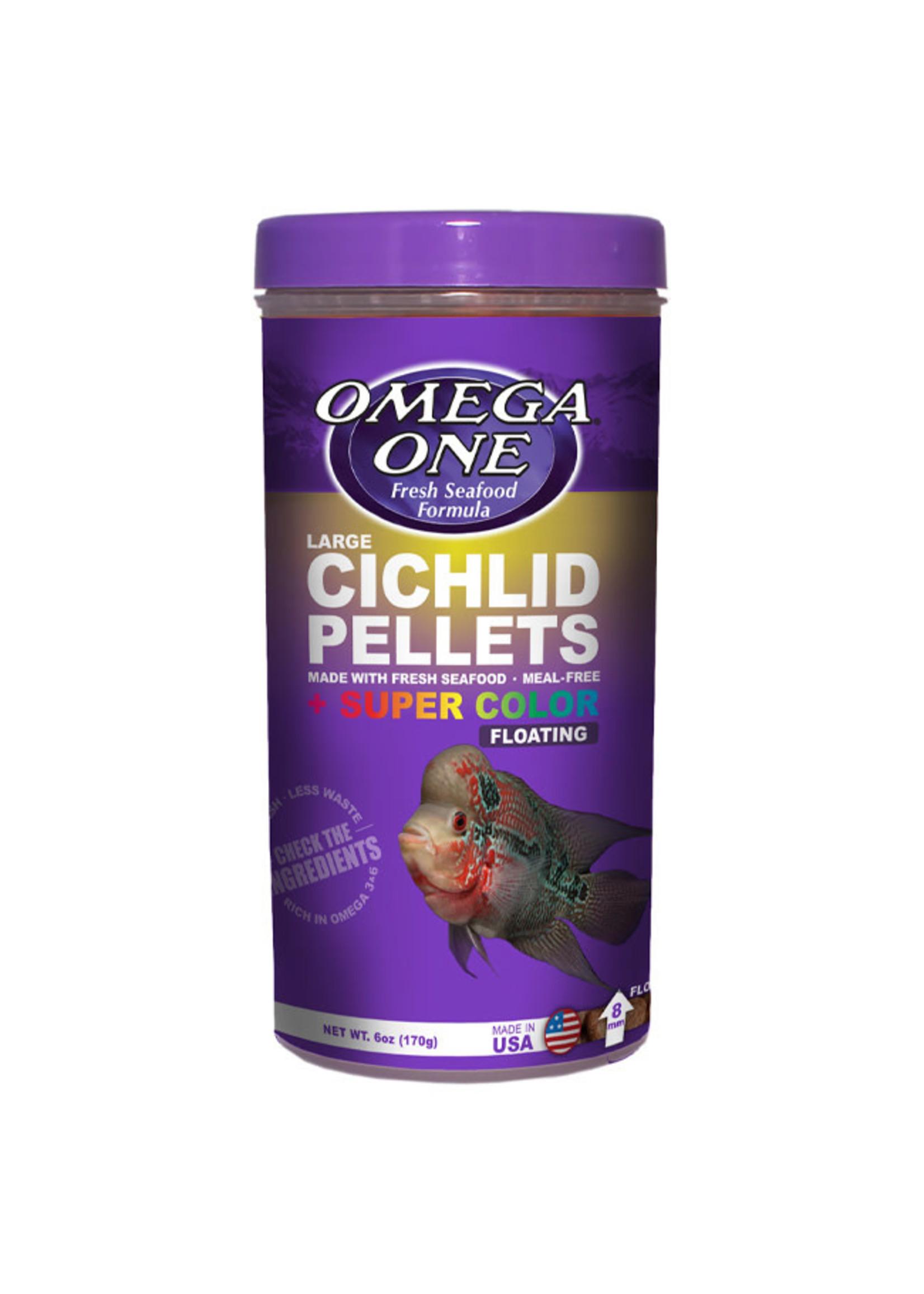 Omega One Omega One Cichlid Floating Pellets