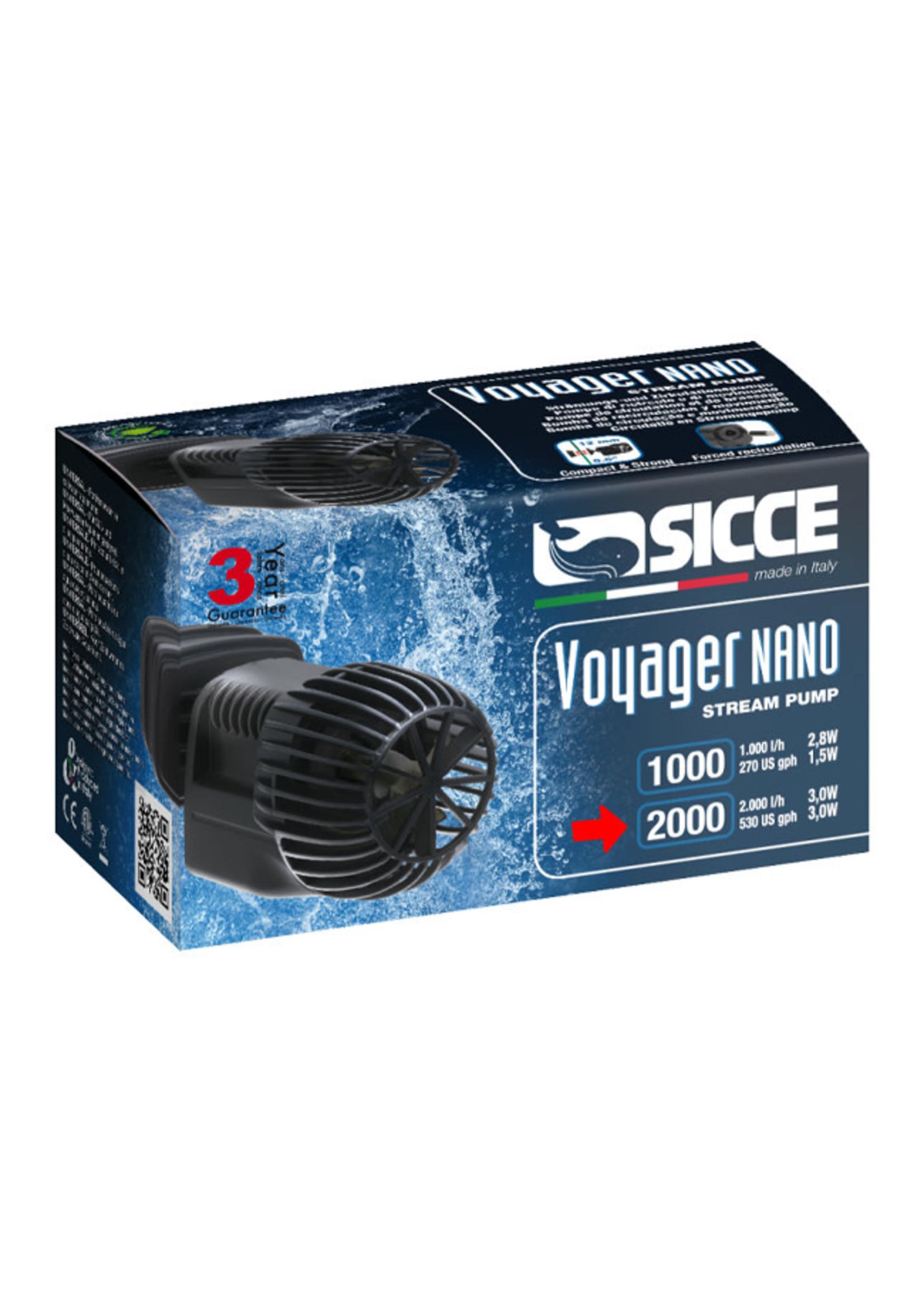 SICCE US, Inc. Sicce Voyager Nano Stream Pump 2000, 530gph