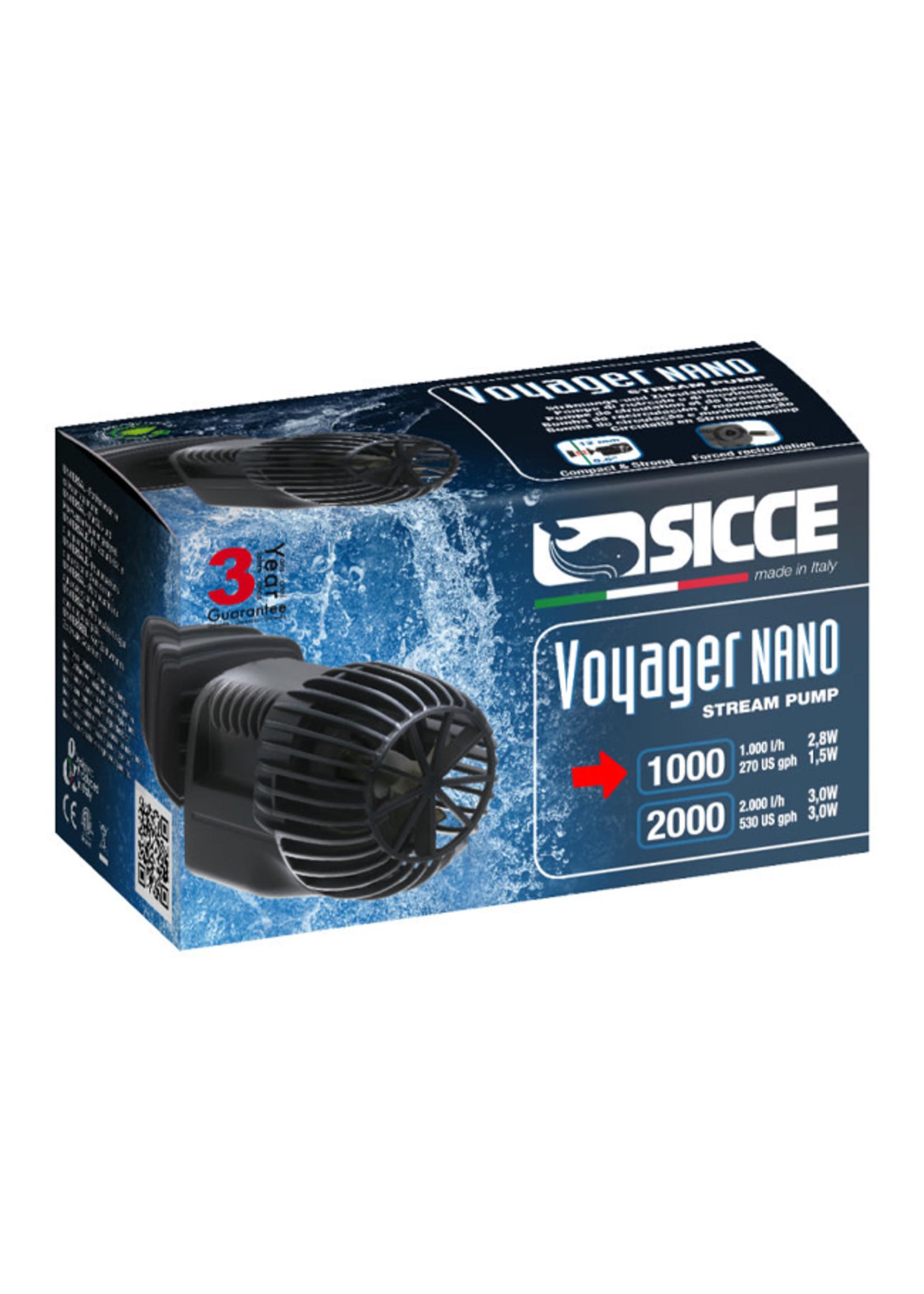 SICCE US, Inc. Sicce Voyager Nano Stream Pump 1000, 270gph
