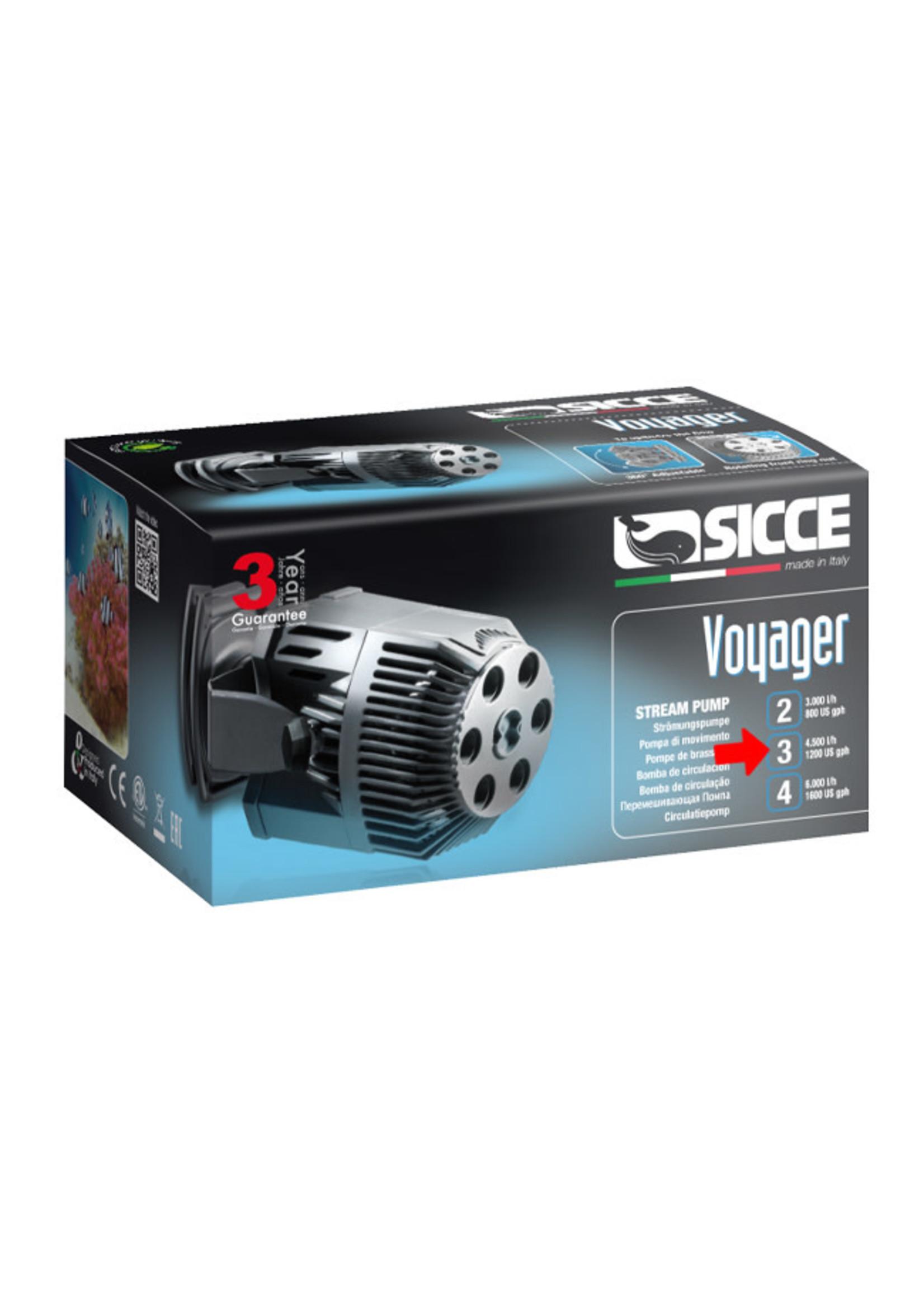 SICCE US, Inc. Sicce Voyager Stream Pump 3, 1200gph