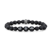 Room 101 Room 101 8mm Lava Stone & 10mm Silver Ohm