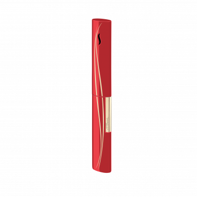 S.T Dupont S.T. Dupont The Wand Lighter Red Waves