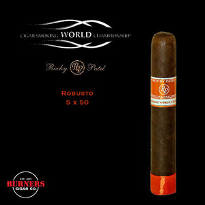 Rocky Patel Cigar Smoking World Championship Robusto (Box of 20)