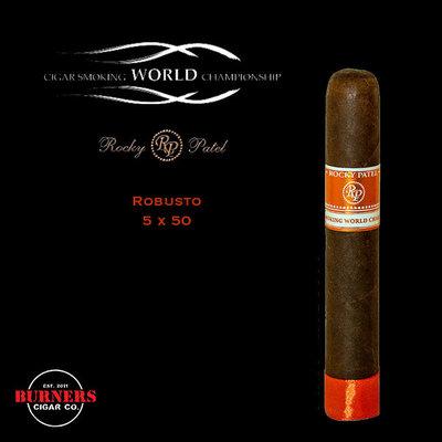 Rocky Patel Cigar Smoking World Championship Robusto (Box of 20)
