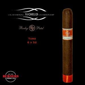 Rocky Patel Cigar Smoking World Championship Toro (Box of 20)