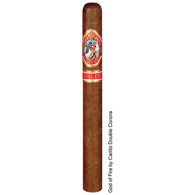 God of Fire God of Fire by Carlito Double Corona (Box of 10)