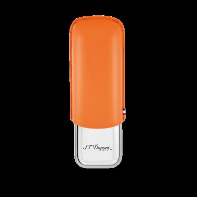 S.T Dupont S.T. Dupont Double Cigar Case Orange