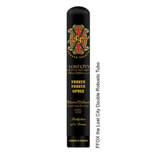 Opus X Fuente Fuente OpusX The Lost City Double Robusto Tubo (Box of 8)