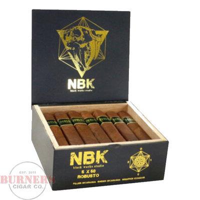 Black Works Studio BLK WKS Studio NBK Box Press Robusto (Box of 20)