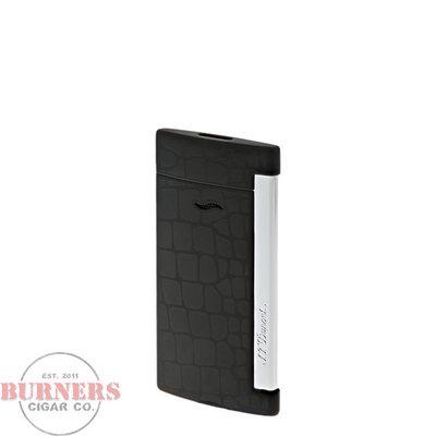 S.T Dupont S.T. Dupont Slim 7 Croco Pattern Black