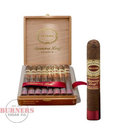 Aganorsa Aganorsa Leaf Maduro 54-Robusto Extra (Box of 15)