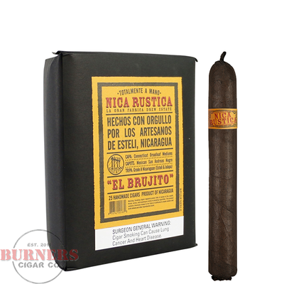 Drew Estate Nica Rustica El Brujito (Bundle of 25)