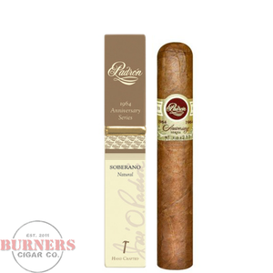 Padron Padron 1964 Anniversary Series Soberano Tubo Natural single
