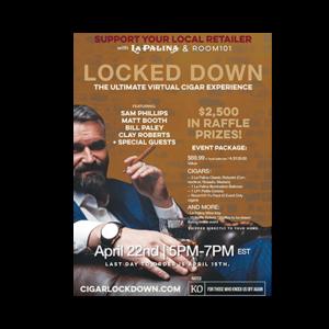 Room 101 Cigar Locked Down Virtual Event with La Palina & Room 101