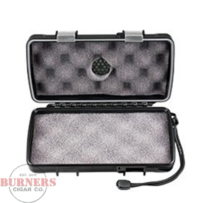 Xikar 5 Count Travel Humidor- Black