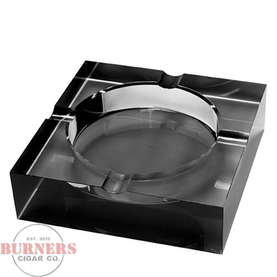 Crystal Ashtray - Black