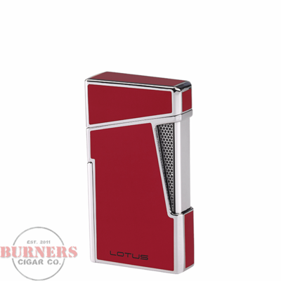 Lotus Lotus Apollo Twin Pinpoint Torch Flame Lighter Red Lacquer