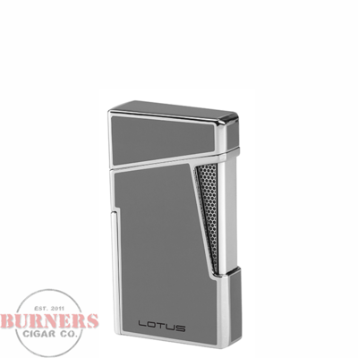 Lotus Lotus Apollo Twin Pinpoint Torch Flame Lighter Gray Lacquer