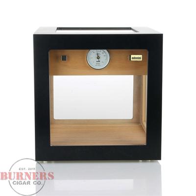 Adorini Adorini Cube Deluxe Humidor Black