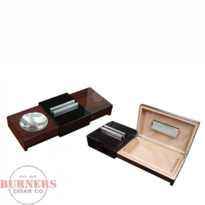 Brazillian Rosewood Sliding Ashtray Humidor