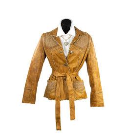 Alan Michael USA Corp Elle Laser Leather Jacket