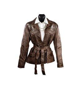 Alan Michael USA Corp Barb Leather Jacket