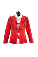Char Designs, Inc. Sweet Sioux Leather Jacket Red