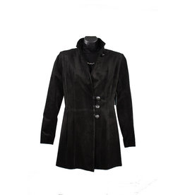 Char Designs, Inc. Rosalie Leather Jacket Black