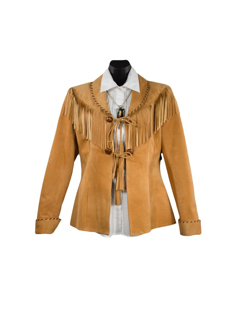 Char Designs, Inc. Sweet Sioux Leather Jacket Desert