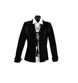 Char Designs, Inc. Sweet Sioux Leather Jacket Black
