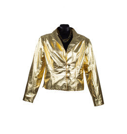Char Designs, Inc. Geneva Metallic Jacket Gold