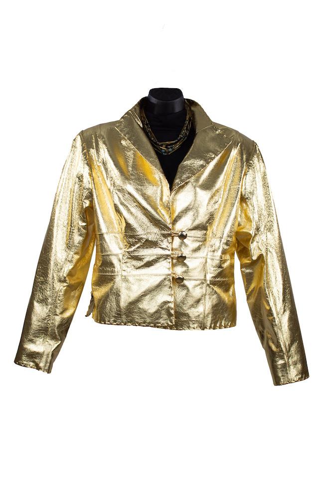 Char Designs, Inc. Geneva Metallic Jacket Gold