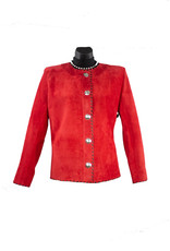 Char Designs, Inc. CoCo Leather Jacket Red