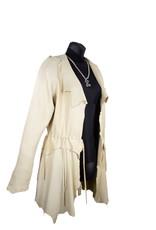 A. Tsagas Tan Deerskin Chamois Jacket