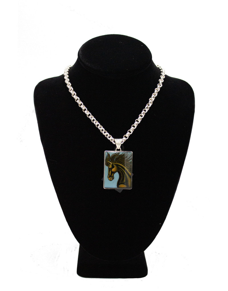 Anna King Designs T13 Horse2 Pendant